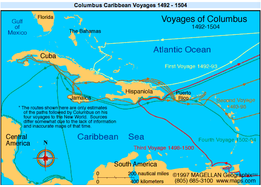 christopher columbus journey and colonization of Christopher columbus and the discovery of  european colonization of the americas  this chapter describes the successful voyage of christopher columbus to the.